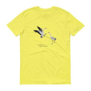Sandhill Crane Short sleeve t-shirt