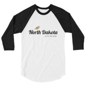 North Dakota Unisex Raglan