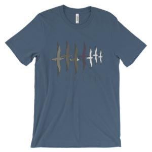 NA Shearwaters Unisex short sleeve t-shirt